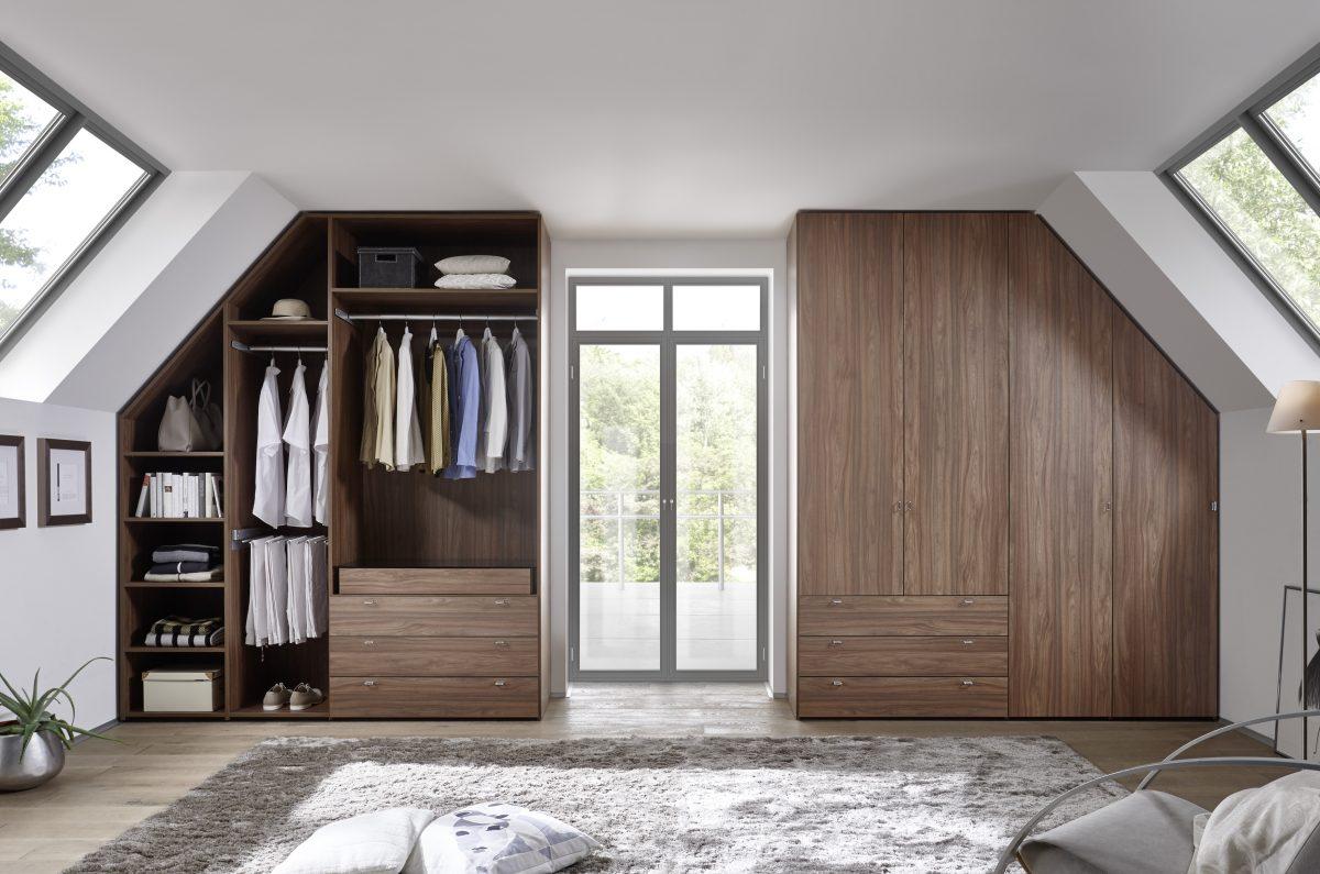 Sehr Räume mit Dachschrägen - optimal genutzt - Mein-Traumschrank.de LU94