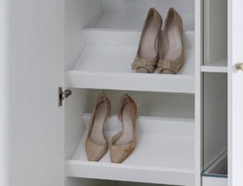 Einlegeboden für Schuhe (schräg)