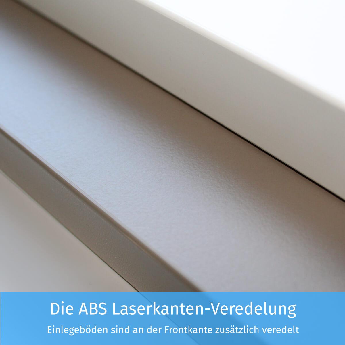 Die ABS Laserkanten-Veredelung