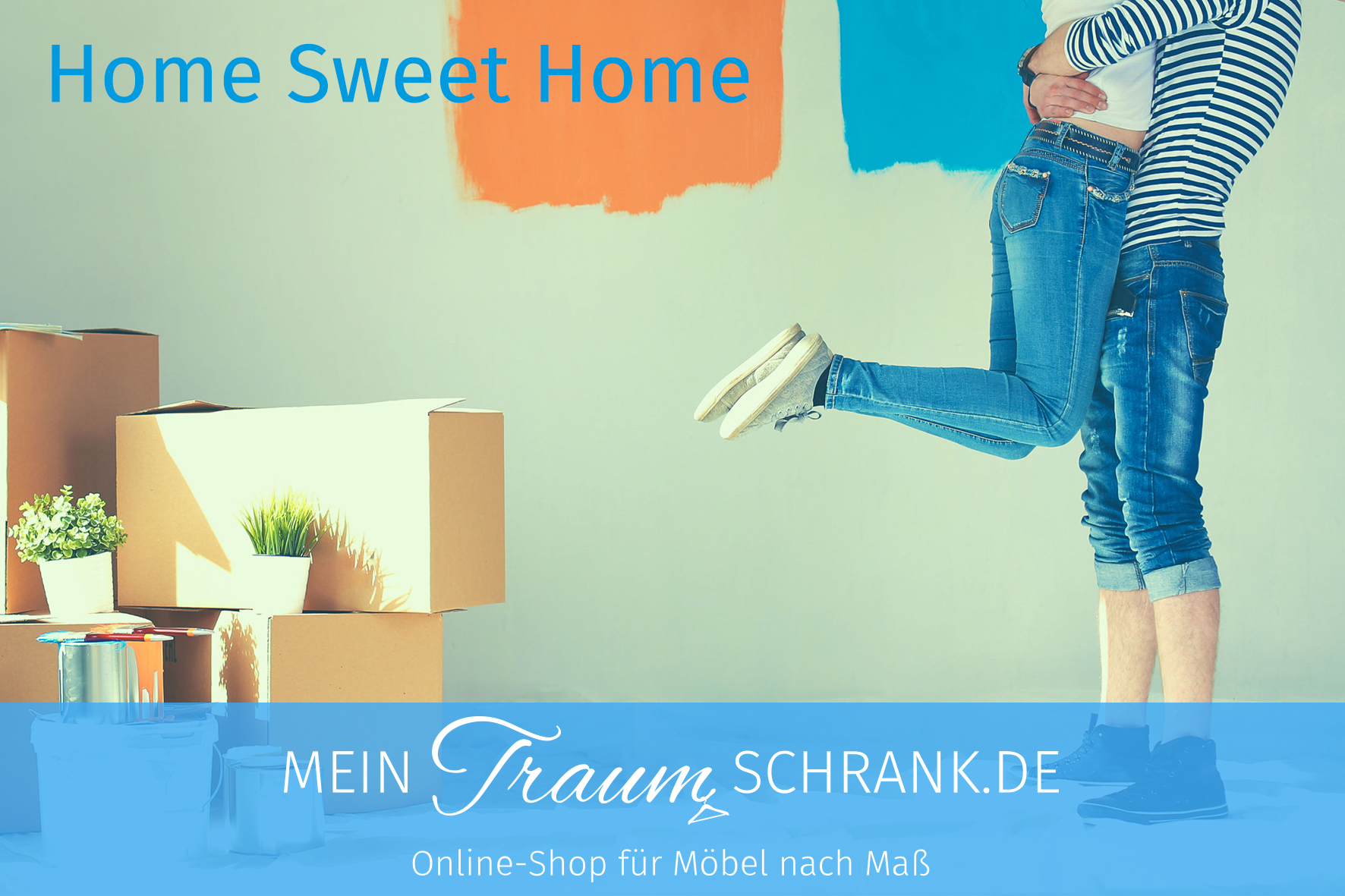 Motiv - Einzug / Home Sweet Home