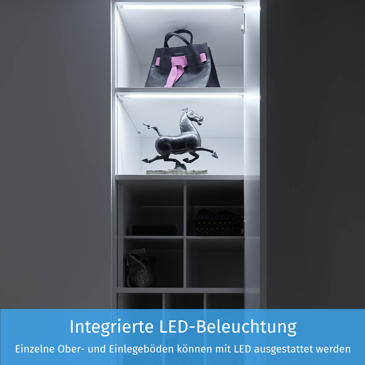 Integrierte LED-Beleuchtung