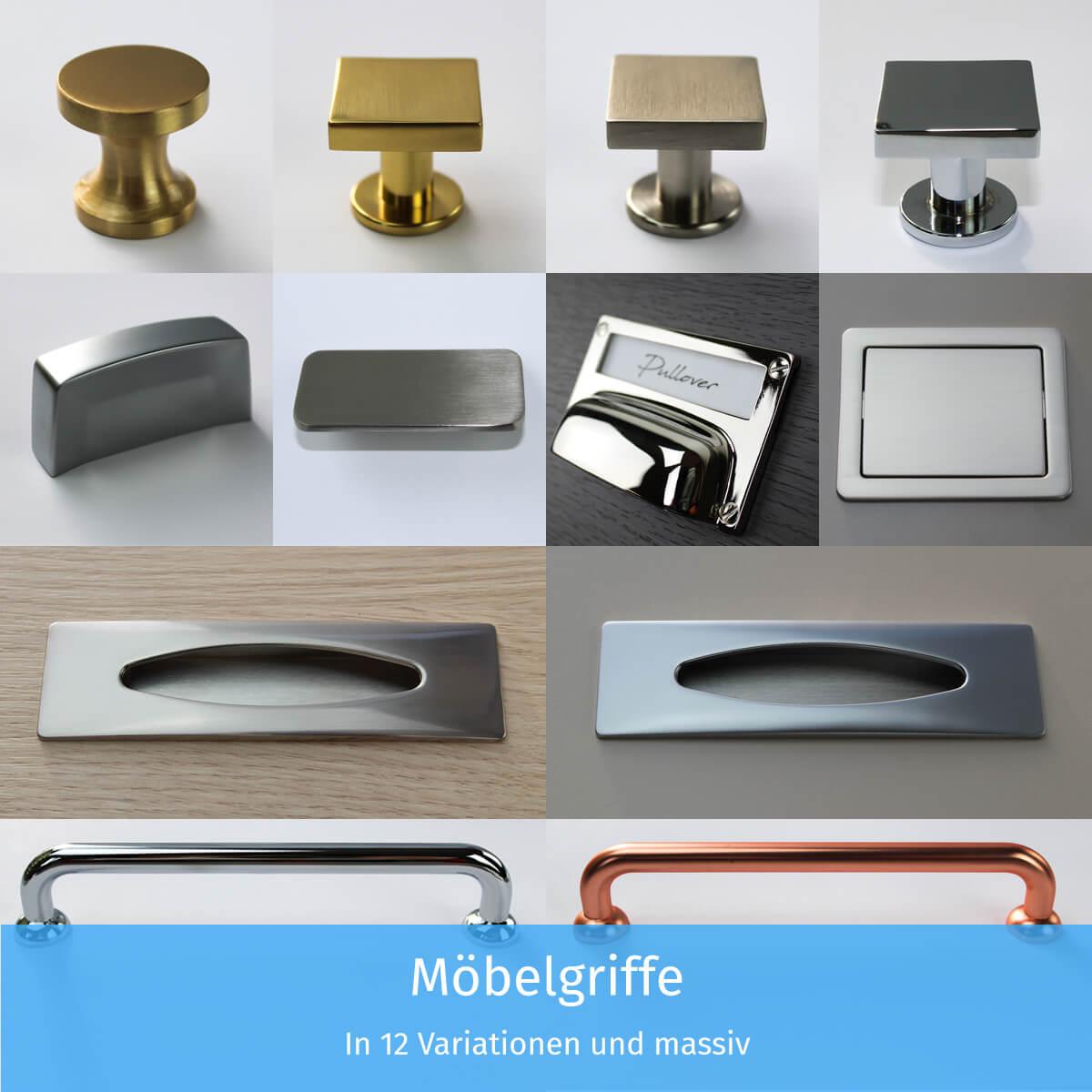 Möbelgriffe – 12 Variationen