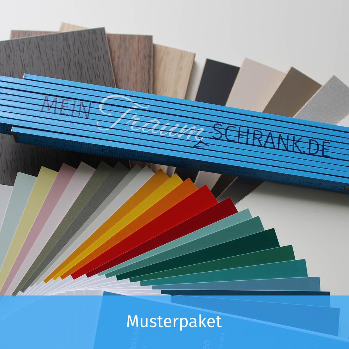 Verzauberkunst Dein Schrank De Preise Dekoration Von Musterpaket Für Deinen Nach Maß