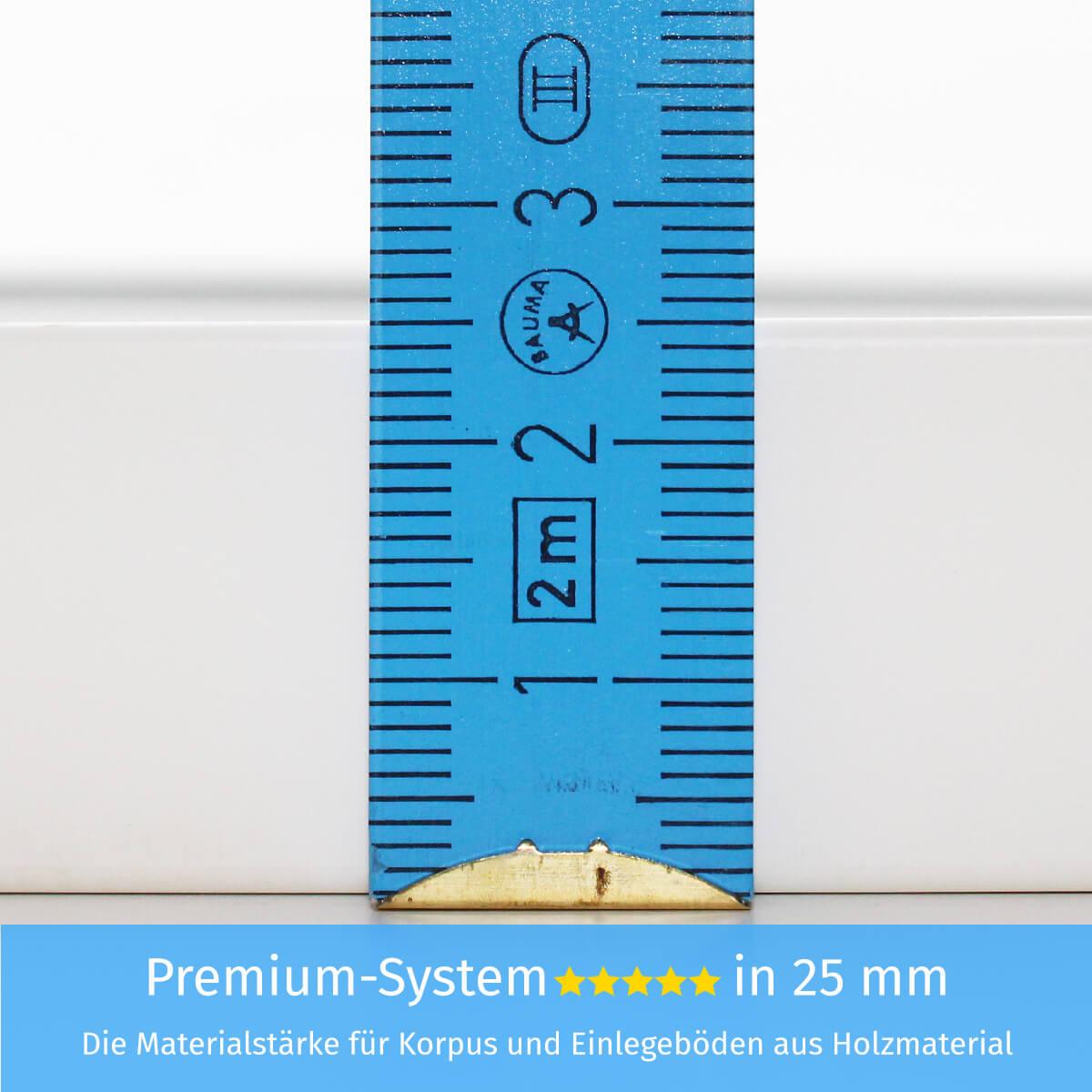 Premium-System in 25 mm