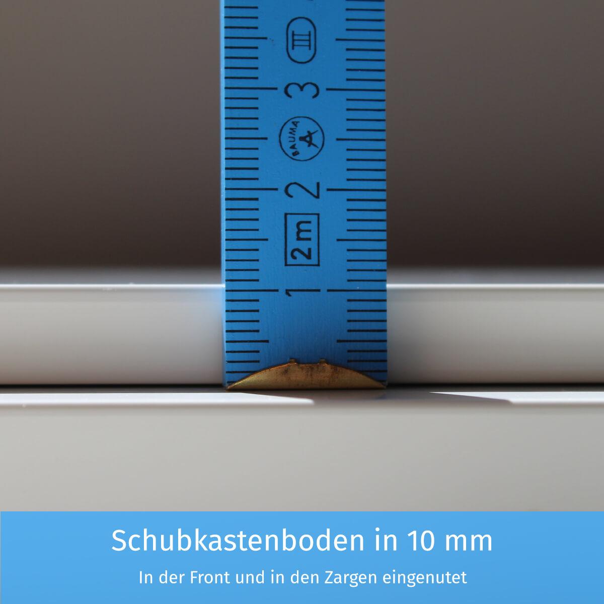 Schubkastenboden in 10 mm