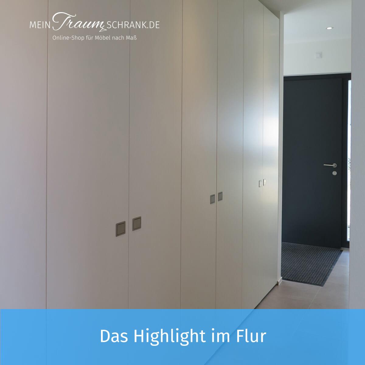 Garderobenschrank nach Maß - Mein-Traumschrank.de