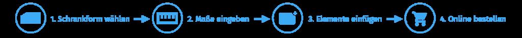 Schrank planen und konfigurieren im 3D Konfigurator